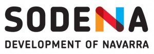 Sodena logo horizontal development of Navarra